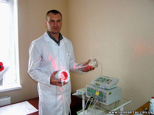 Лазерное лечение кандидозного